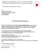 Certyfikat Federalnego Związku Nauczycieli Języka Polskiego Berlin