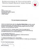 Zertifikat Bundesvereinigung für Polnischlehrkräfte Berlin